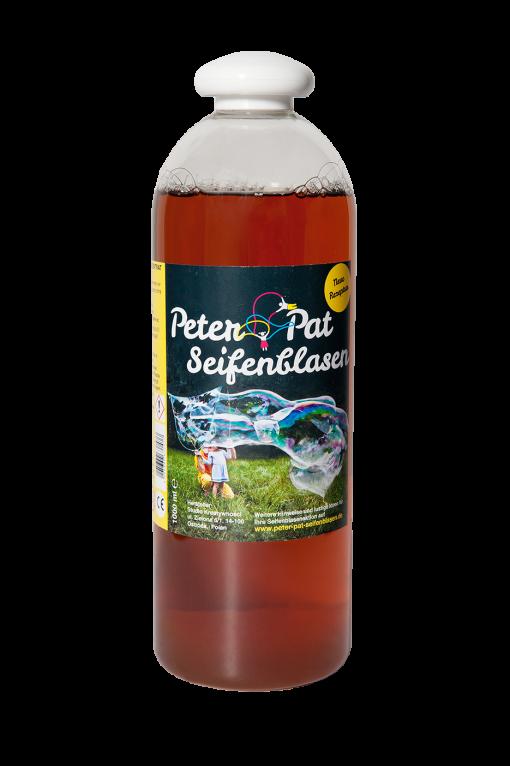 Płyn do baniek mydlanych Peter&Pat - koncentrat 1000 ml - 10 litrów płynu